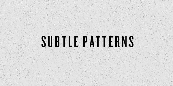 Subtle Patterns - Old Moon