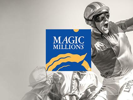 Magic Millions Website Italics Bold