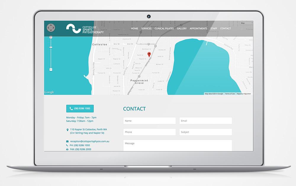 Cottesloe-Sports-Italics-Bold-Website-Design