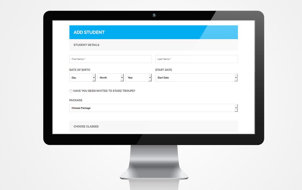 Online-Enrolment-System-Dance-School-Italics-Bold