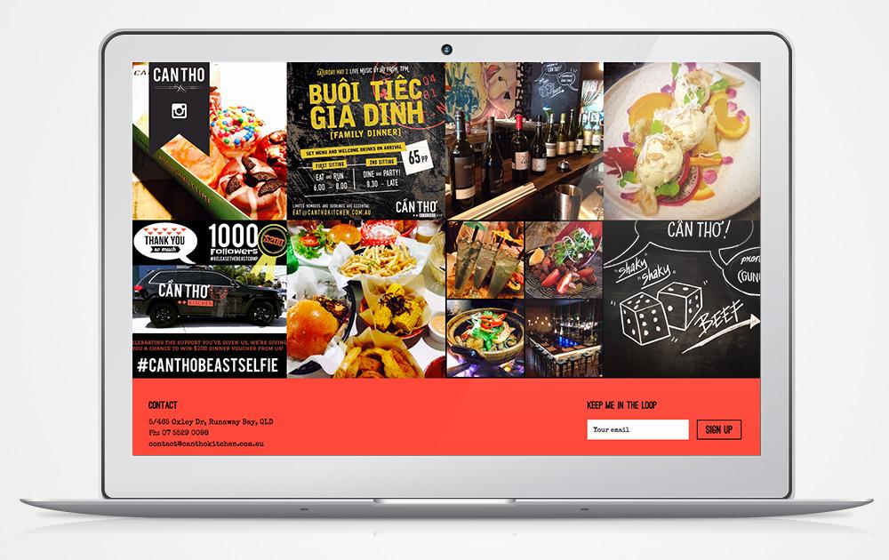 CanTho-restaurant-website-development