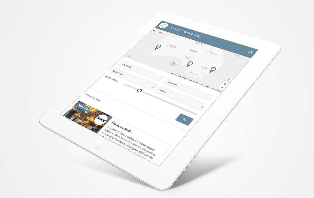 Events-Directory-Website-Italics-Bold-Custom-Built-Website
