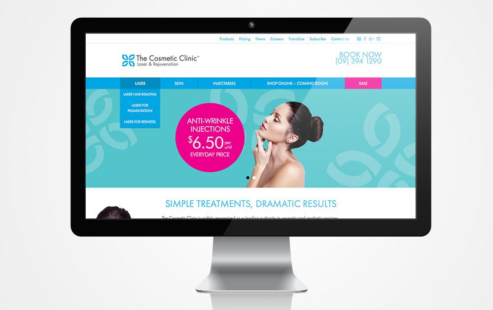 Italics-Bold-Website-Design-Cosmetic-Design