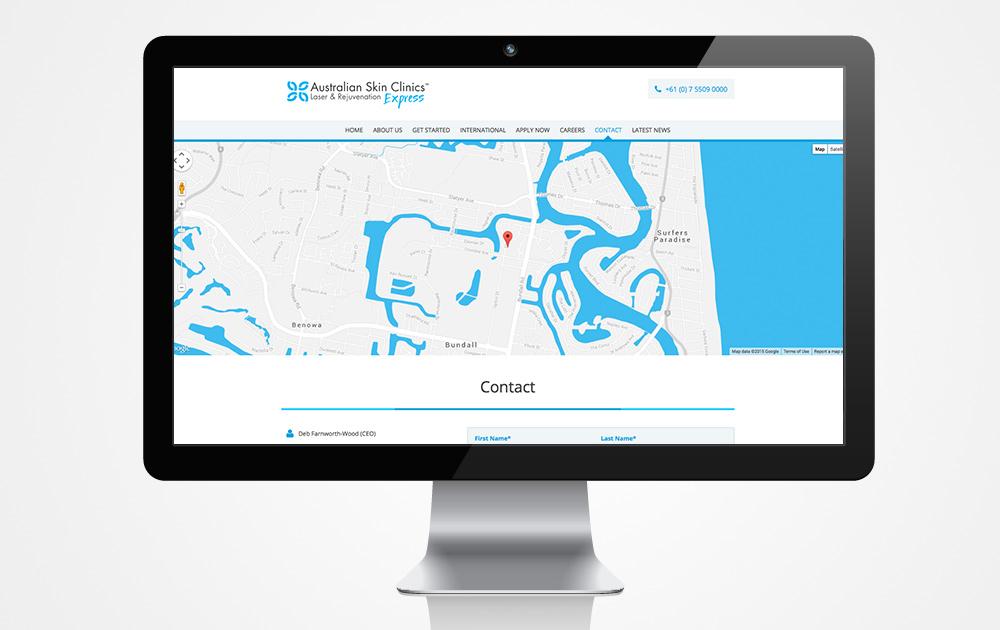 Italics-Bold-Website-Design-Custom-Map-Laser-Skin-Franchise