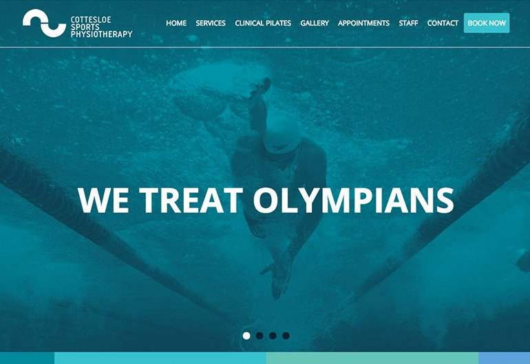 Physio website design