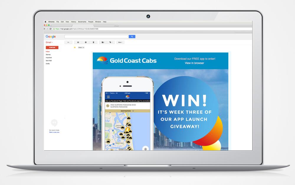 email-newsletter-italics-bold-gold-coast-website-design
