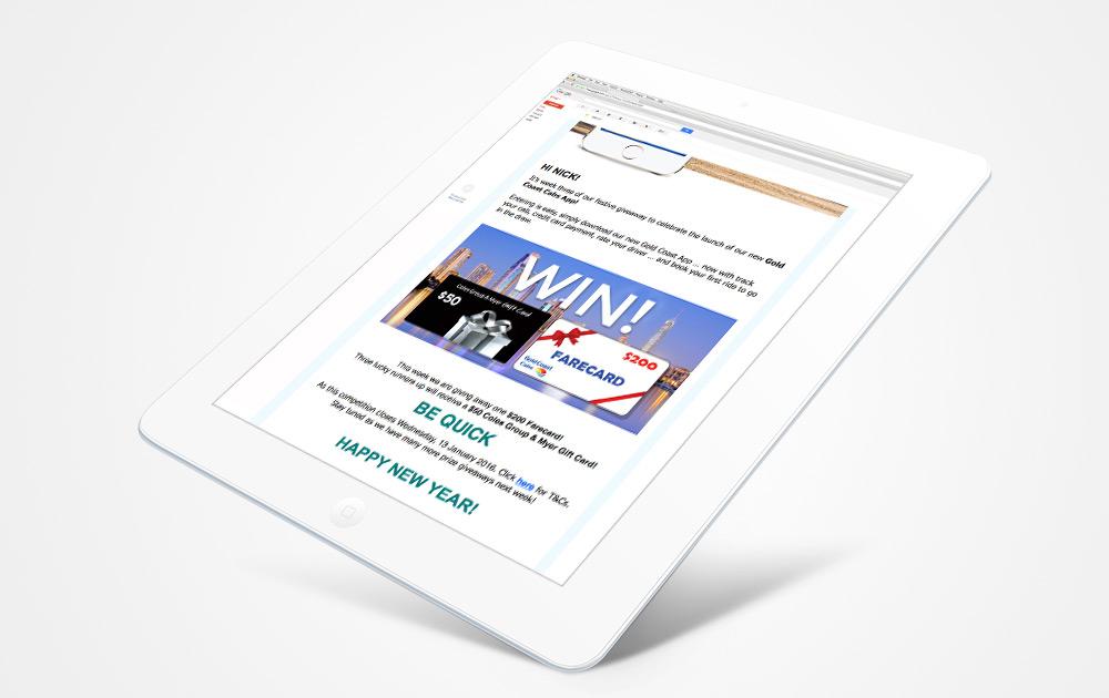 email-newsletter-italics-bold-website-design