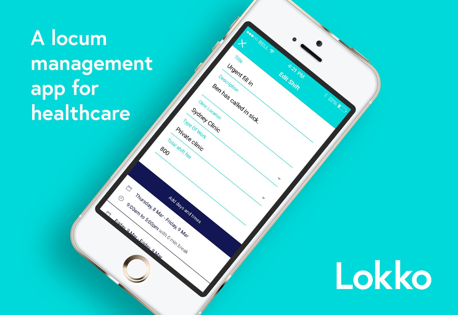 Lokko Locum App