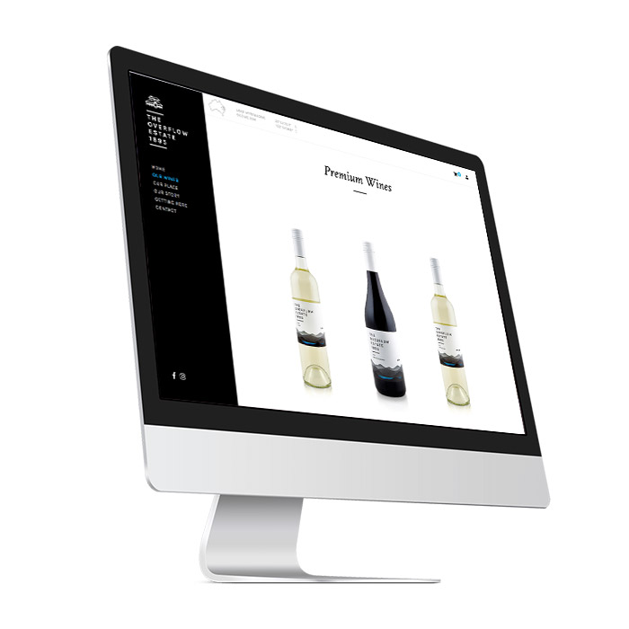 Winery Website online shop